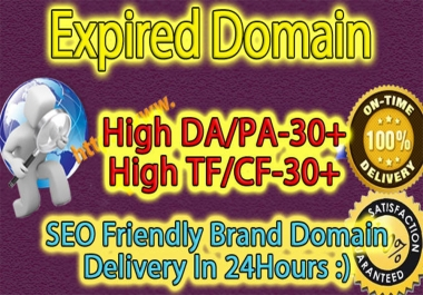 find SEO friendly high metrics 5 expired domains