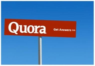 Manually create 12 Do-Follow Quora Answer Backlinks