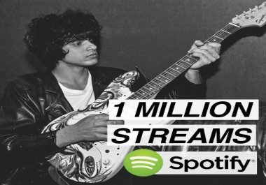 5,000 Spotify real plays