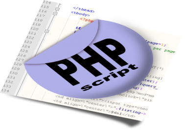 install any php script on your server