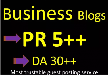 Do Guest Post In PR 5 On My PBN Linking To Your Site