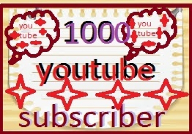 1000 youtube subscribers or 2500 youtube likes give you
