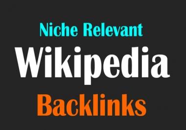 Niche Relevant Wikipedia Backlinks