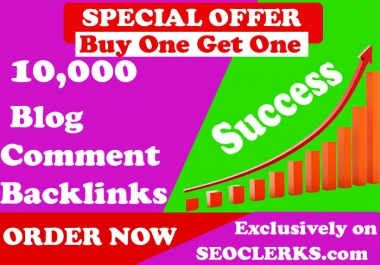 20,000 Blog Comments Backlinks for Google SEO