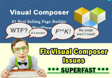Fix All Visual Composer Issues SUPERFAST