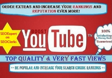 Give you 2,000+ Guaranteed and Safe Youtube VIEWS in ... for $1