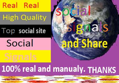 we provide 1000+ social signals backlink for you best platform