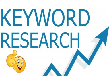 500 keywords+ 10 most profitable keyword research