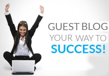 We will publish your article on  High authority Blogs