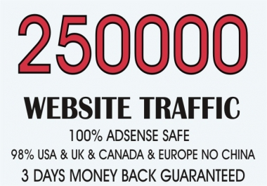 REAL HUMAN TRAFFIC BY Google Twitter Youtube and many more to web site