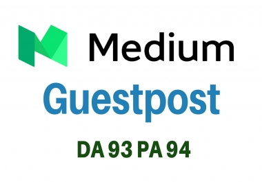 Write and Publish a High Quality Guest Post on MEDIUM