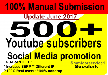 Supper Fast Get Nondrop 500+ Lifetime guarantee youtube subscribers on your channel very fast delivery