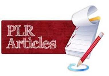500 PLR articles download