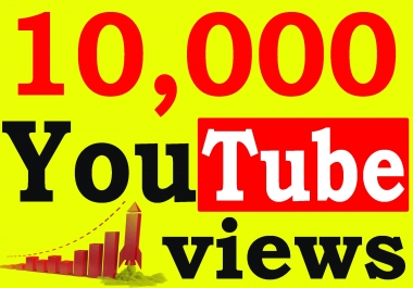 Fast 10,000+ Adsense Safe High Retention YouTube Views Non Drop