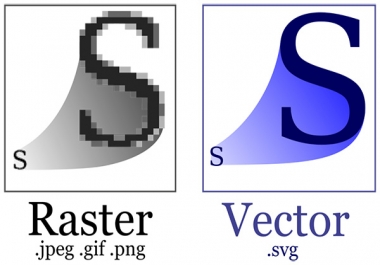 vectorise Your Logo, Convert Image To Vector In 24 hours