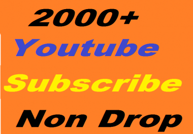 Safe 2000+ YouTube Subscribers Non Drop or 5000+ YouTube Likes Or 2400+ YouTube Auto Comment Give you