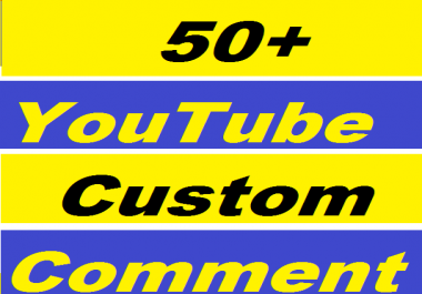 50+ YouTube Custom Comment Or 400+ YouTube Likes Give You in 24-50 Hours