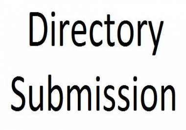 20 Directory Submission for your URL