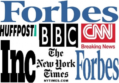 High authority 301 redirect backlink from above DA90 Forbes,BBC HuffingtonPost etc