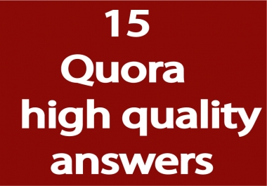 Promote Your Website By 15 High Quality Quora Answer