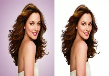 Professionally Remove Background Of 25 Images