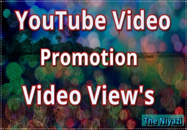 Fantastic Deals Youtube video promotion non drop