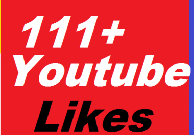 111+ YouTube Likes Give You super fast