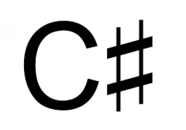 C# programming helping