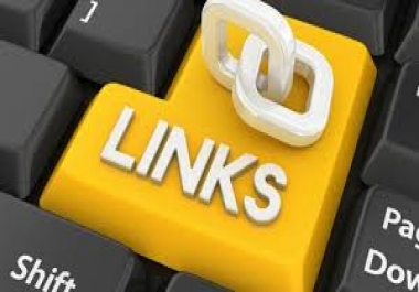 Create 60 linkbuilding Backlinks from High PR sites