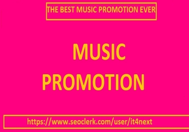 Get Basic packages for music promotion for your audio song