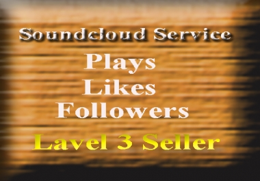 Get 50 soundcloud likes+ 50 reposts+ 50 comments