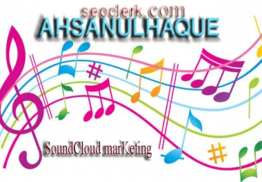 Instance Start SoundCloud marKeting work 1000 like or repost or followers + 10 comments+10 share