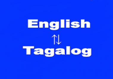 TRANSLATE ENGLISH ARTICLE TO TAGALOG