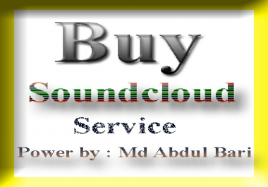 Get SoundCloud Marketing work 500,000 plays+ 3000 likes + 200 comments +100 repost