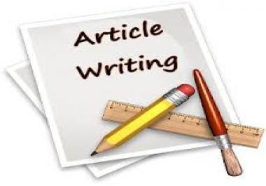 High Quality 1500 Words Article Writing