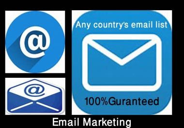 I can provide 3000 German business email list for $5