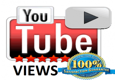 Provide Worldwide Youtube video views on your youtube video for Make Popular