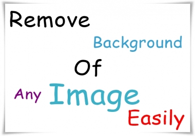 Remove Background 20 Photos in 24 hours