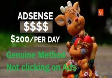Show you how to make 20 to 200 dollars per day from Google Adsense