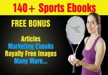 Over 140 Sports Plr,Mrr Ebooks