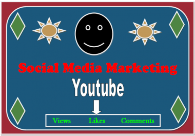 Unbeliveable Offer Social media 11,600 youtube views, 1400 likes, 260 comments non drop