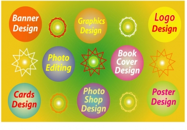Graphic design, Logo design, Illustrator, Photoshop, Business card design.