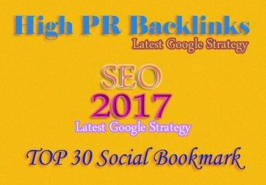 Manually Create 30 PR10 Social Bookmarking Backlinks get best Alexa Rank