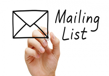 1000 Target Email List Collection