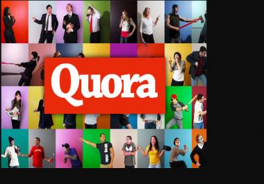 offer 20 high quality quora backlinks