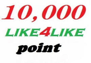 Super fast delivery  20k like4like point