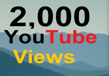 3000 High Retention Real YouTube Views  Non Drop