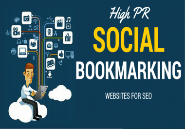 100 High Quality Social Bookmarking for your website