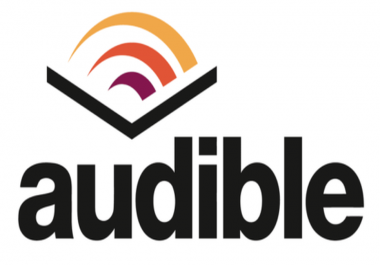 Create new account on audible.com with 2 credit