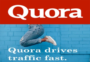 offer 25 quora answers for targeted traffic